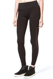 SHEER SIDES SPORTS LEGGING - Madonna and Co - 1