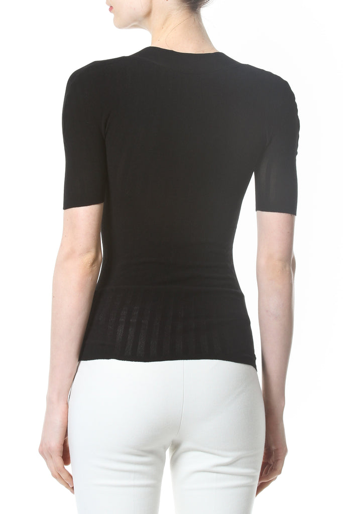 Ribbed Second Skin 1/2 Sleeve