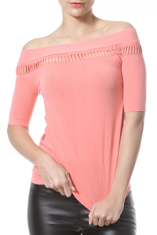 Seamless Second Skin Herringbone Long Sleeve