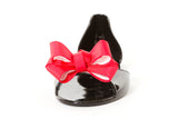 BOW FRONT JELLY FLATS