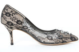 Lace & Crystal Pump