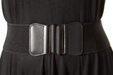 ELASTIC BELT WITH FRONT CLOSURE - Madonna and Co - 1