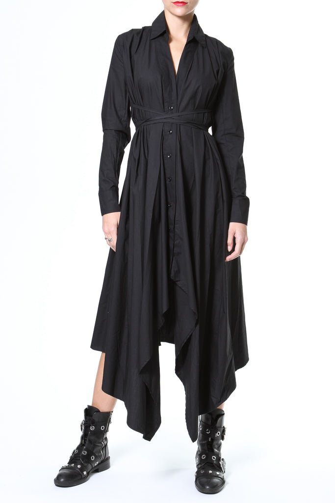 Asymmetrical Shirt-Dress