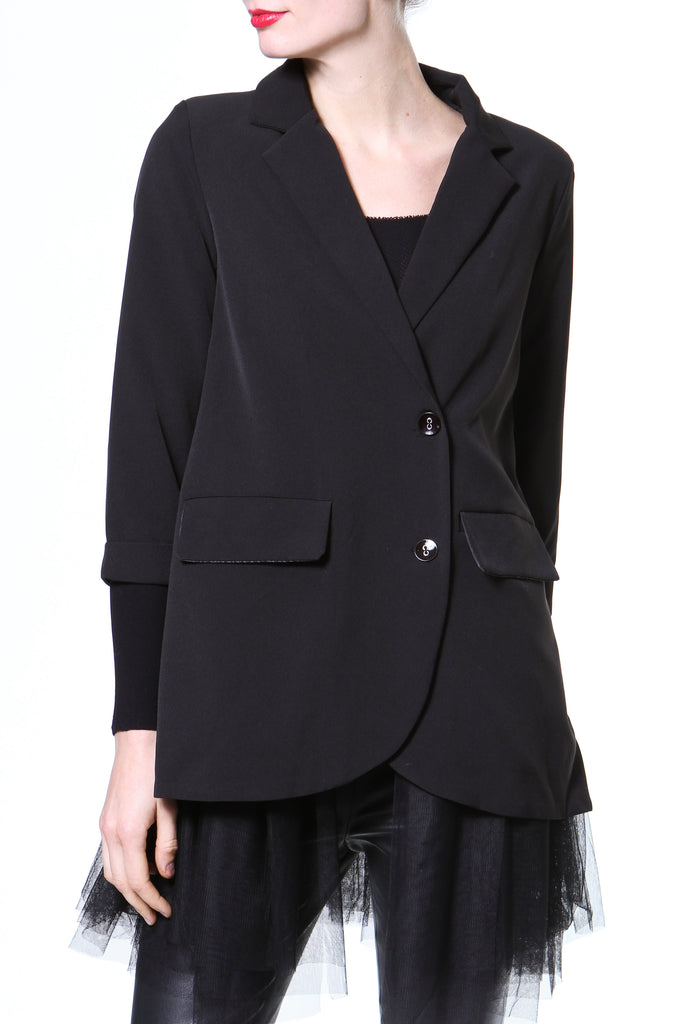 STRETCH KNIT BLAZER - Madonna and Co - 5