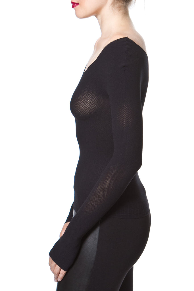SEAMLESS SECOND SKIN KNIT TOP - Madonna and Co - 2