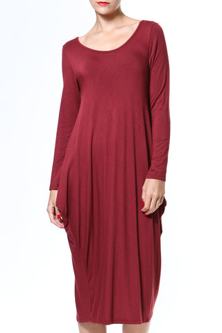 Cotton Sweater Dress