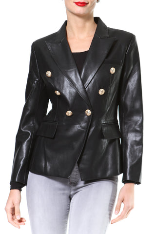 3-in-1  Zip Off Leather Biker