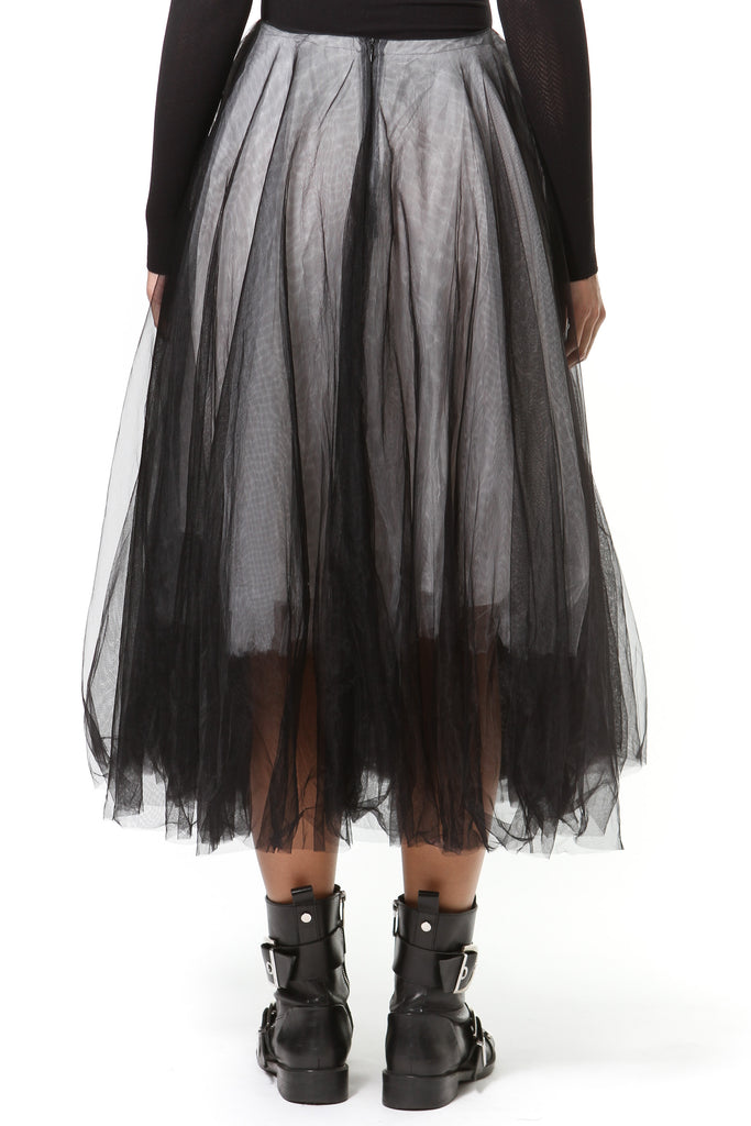 Lace & Tulle Statement Skirt