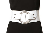 Wide Belt With Front Ring Closure