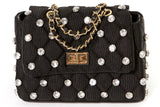 Studded Messenger Bag