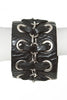 CHAIN & LEATHER CUFF - Madonna and Co