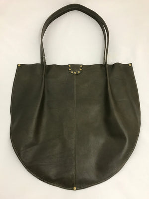Dark Army Green Large Shoulder Bag