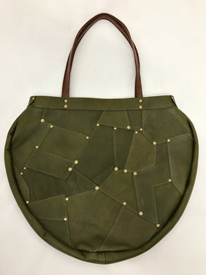 Patchwork Green Limited Edition Bag
