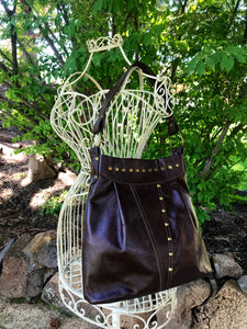 Brown Leather Small Shoulder Bag