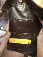 Rich Brown Leather Large Capacity Limited Edition Bag