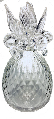 Elegant Glass Pineapple