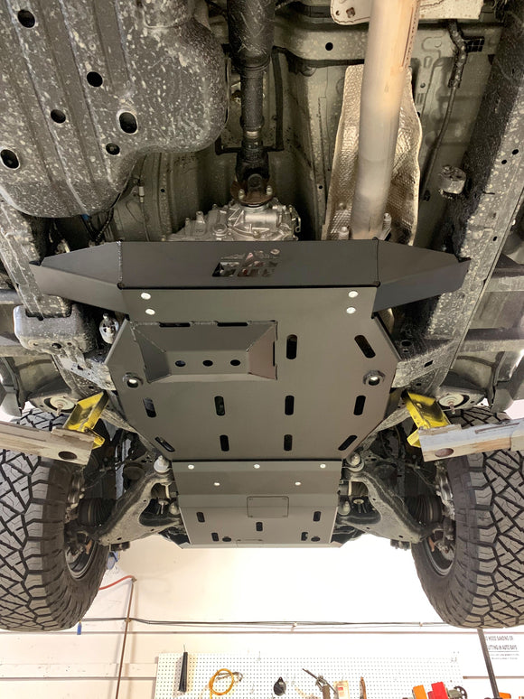Toyota 5th Gen 4Runner Rear Skid Plate-Aluminum