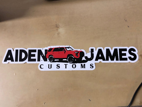 AJC Die Cut Decal