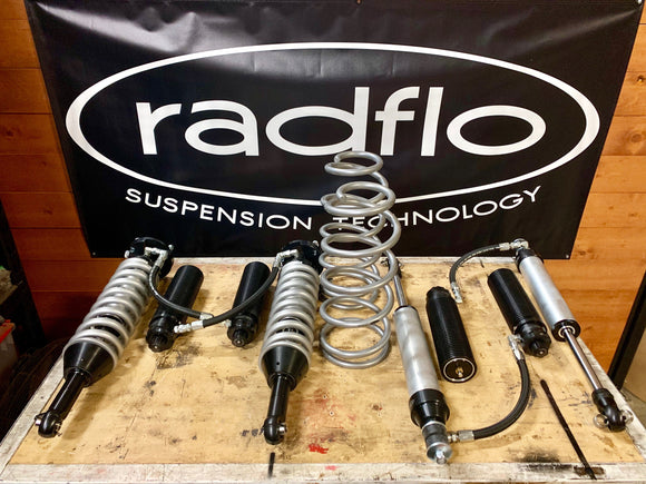 Radflo / Aiden James Customs Black Finned Custom Kit for 10+ 4Runner/FJ Cruiser