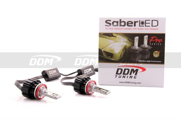 DDM Saber Pro LED Headlight Kit - 50 Watt
