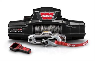 Warn ZEON Platinum 10-S Recovery 10000lb Winch with Spydura Synthetic Rope - 92815