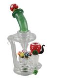 bong Empire Glassworks Mini Recycler Rig - 7.5"