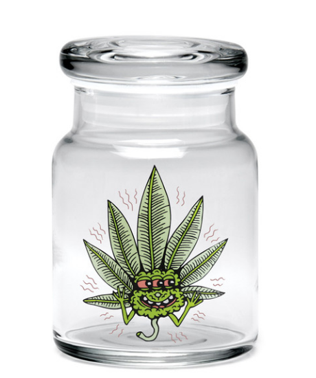 "bote 420 Science Killer Acid Leaf Pop Top Jar - 3.75"" / Small"