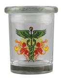 bote Cannaline Stash Jar - Caduceus / 1/4oz