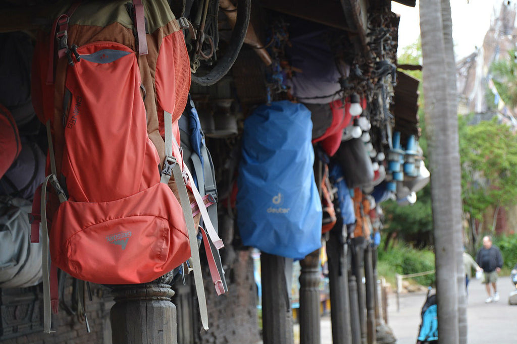 Backpacks of all sizes are needed when trekking to Everest Base Camp