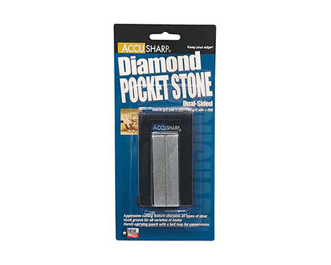 AccuSharp Diamond 3 Inch Stone With Pouch