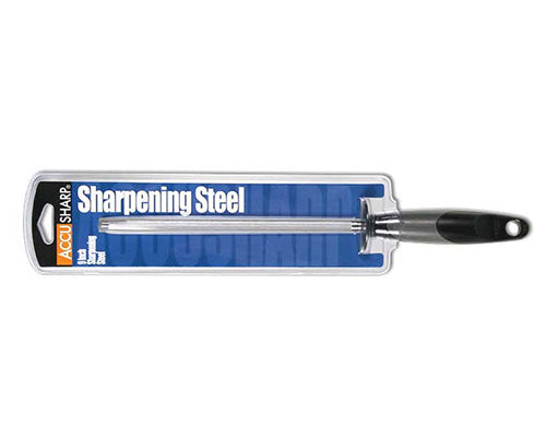 Accusharp Sharpening Butcher Steel 14-Inch