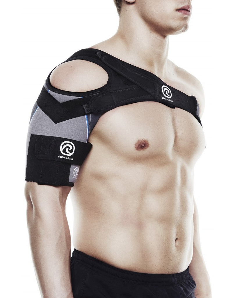 Rehband UD X-Stable Shoulder Brace, Grey (DISCONTINUED)