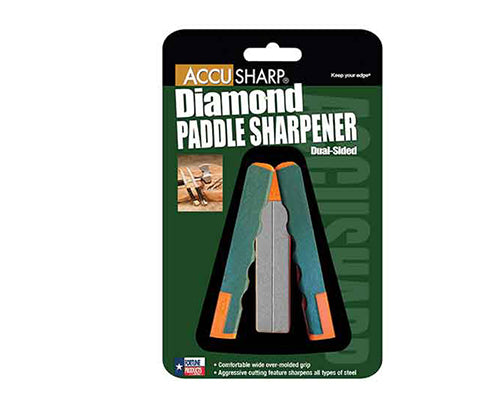 Accusharp Diamond Paddle Sharpener, Orange