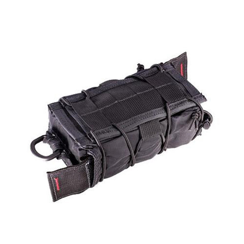 High Speed Gear Belt Mounted Extended Pistol TACO Pouch Wolf Grey