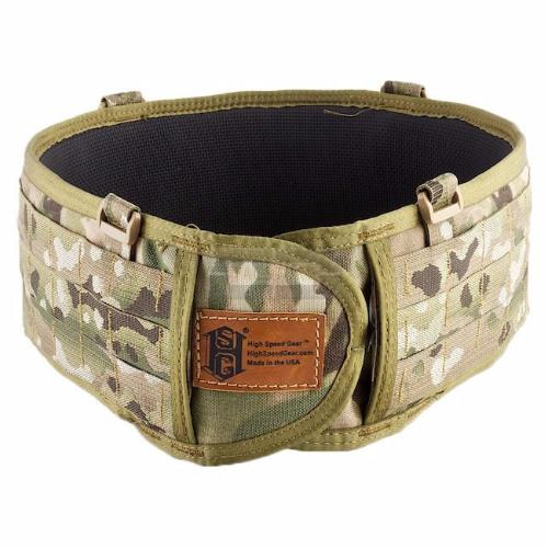 High Speed Gear SureGrip Padded MOLLE / PALS Belt -MultiCam