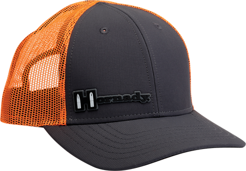 Hornady Grey & Orange Mesh Cap