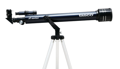 Tasco Novice 60x700mm Refractor Telescope Blue