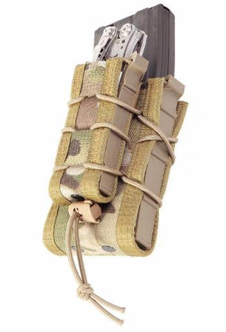 High Speed Gear Belt Mounted Pistol TACO Pouch Wolf Grey