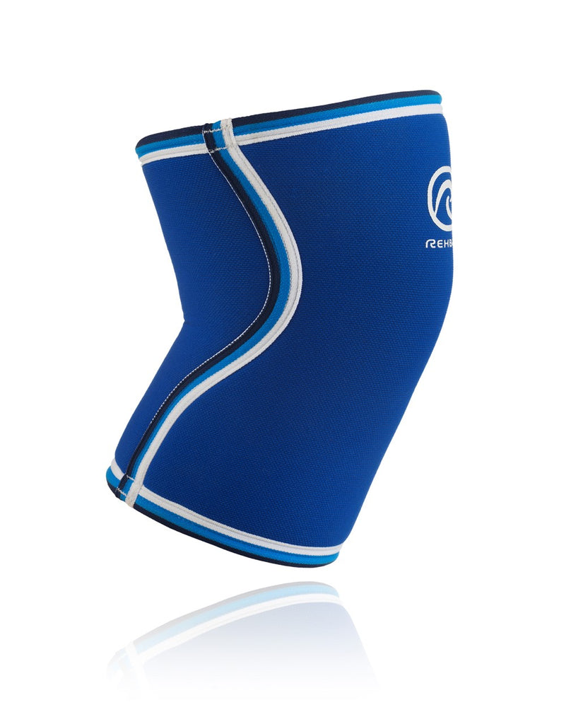 Rehband RX Original Knee Sleeve 7mm, Blue (DISCONTINUED)
