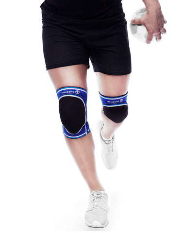 Rehband UD Knee Sleeve Patella Opening, Grey (DISCONTINUED)