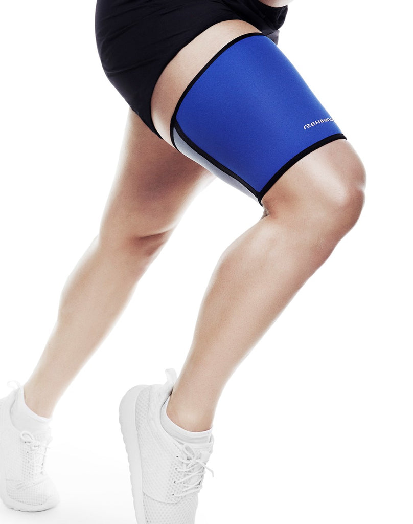 Rehband QD Thigh Support 3mm, Blue (DISCONTINUED)