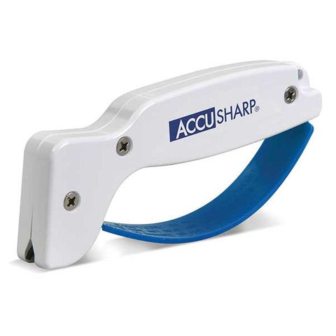 AccuSharp Sharp 'N Easy 2-Step Sharpener and Sport Knife - Blue