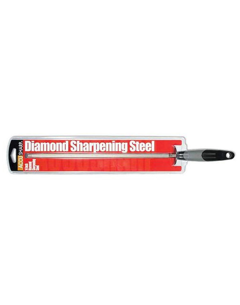 Accusharp Diamond Sharpening Steel 14-Inch
