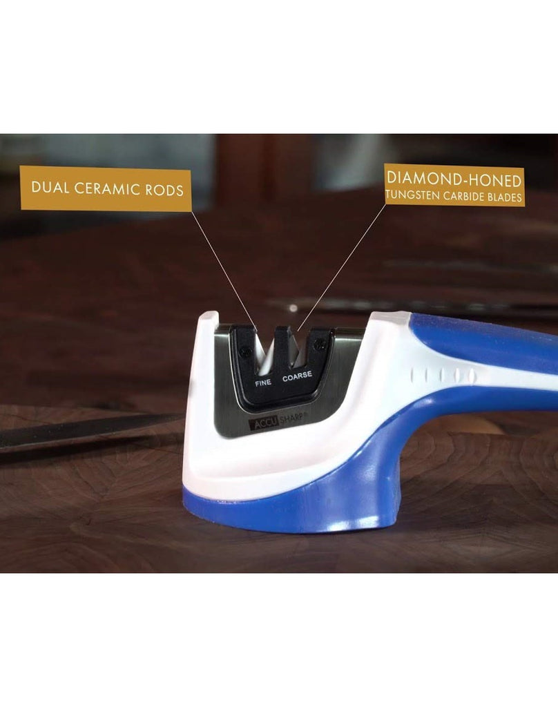 Accusharp Pull-Through Knife Sharpener