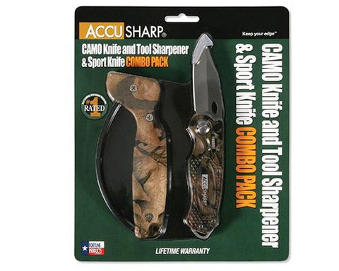 AccuSharp SharpNEasy Blue & Black 2-Step Sharpener