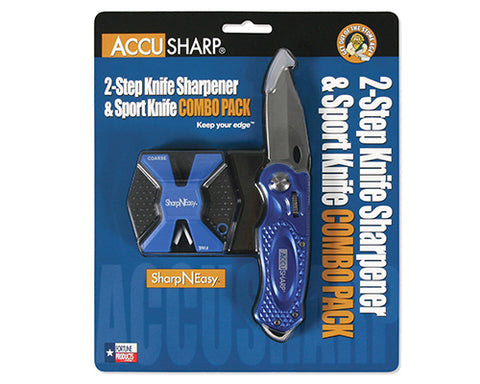 Accusharp Compact Pull-Through Sharpener