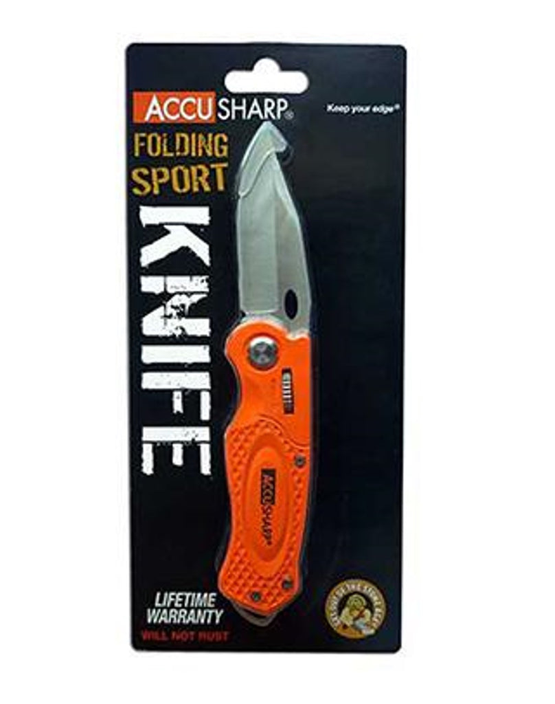 Accusharp Orange Sport Knife