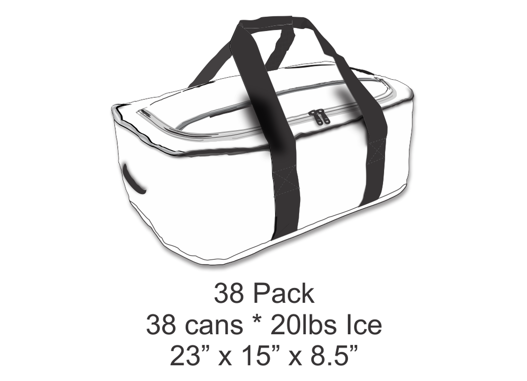 AO Coolers 38 Pack Carbon Stow-N-Go