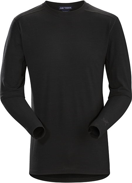 Arc'teryx LEAF Men's Cold WX LS Shirt AR Wool - Black (DISCONTINUED)