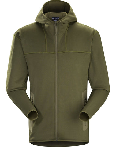 Arc'teryx LEAF Men's Naga Hoody Full Zip - Ranger Green